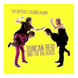 "DUNCAN REID AND THE BIG HEADS ""The difficult second album"" LP"