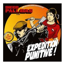"DIEGO PALLAVAS ""Expedition Punitive!"" CD"