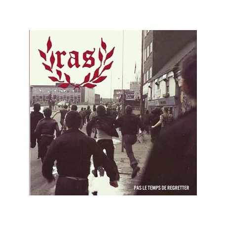 "RAS ""Pas le temps de regretter"" CD"