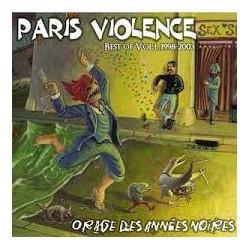 """PARIS VIOLENCE """"Orage des années Noires"""" CD"""