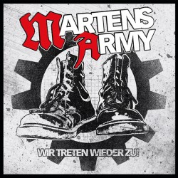 """MARTENS ARMY """"Wir treten wieder zu"""" LP"""