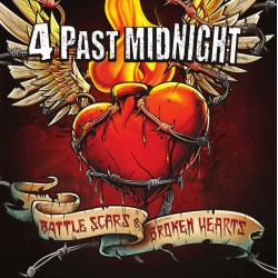 "4 PAST MIDNIGHT ""Battle Scars & Broken Hearts"" CD"
