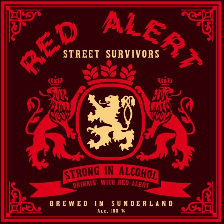 "RED ALERT ""Street Survivors"" LP"