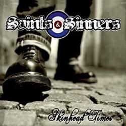 "SAINTS & SINNERS ""Skinhead Times"" CD"