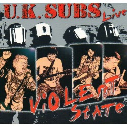 "UK SUBS ""Violent State"" CD"