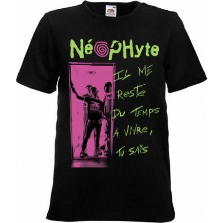 """NEOPHYTE """"Il me reste du temps"""" TEE SHIRT HOMME"""