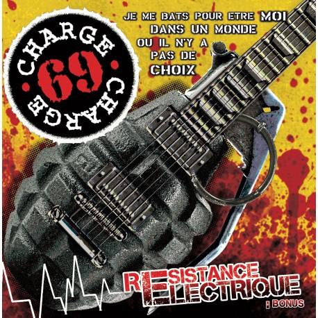 """CHARGE 69 """"Resistance Electrique + bonus"""" CD"""