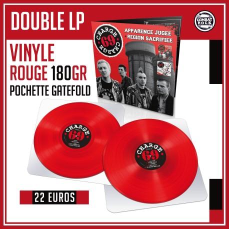 "CHARGE 69 ""Apparence + Région"" Dble LP"