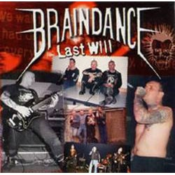 "BRAINDANCE ""Last Will"" CD"