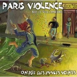 """PARIS VOLENCE """"Orage des années noires"""" CD"""