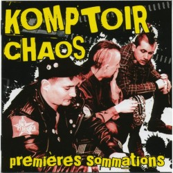 "KOMPTOIR CHAOS ""Premières Siommations"" CD"