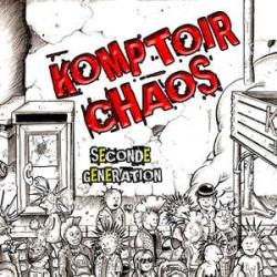 """KOMPTOIR CHAOS """"Seconde Génération"""" CD"""