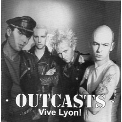 "OUTCASTS ""Vive Lyon"" CD"