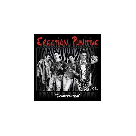 "ERECTION PUNITIVE ""Resurrection"" CD"