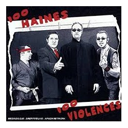 "PUNCH CHAOS ""100 Haines 100 Violences"" CD"