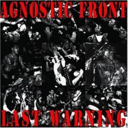 "AGNOSTIC FRONT ""Last Warning"" LP"