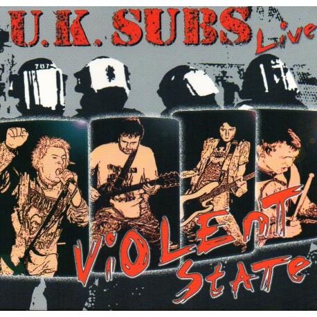 """UK SUBS """"Violent State"""""""