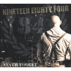 "1984 ""Never Forget"" CD + Photo"