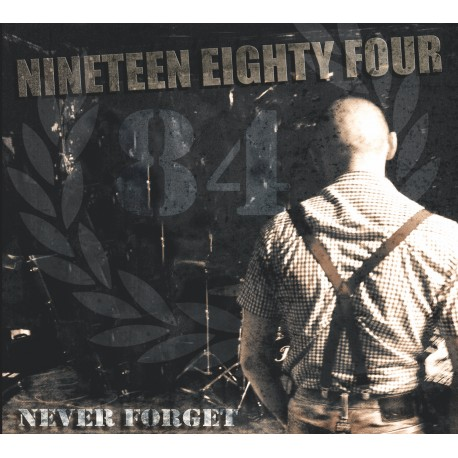 """1984 """"Never Forget"""" CD + Photo"""