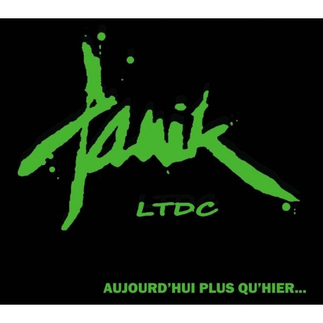 "PANIK LTDC ""Aujourd'hui plus qu'Hier"" CD + Photo"
