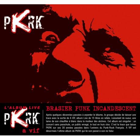"""PKRK """"A Vif"""" Live CD"""