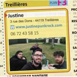 "JUSTINE ""06 72 43 58 15"" CD"