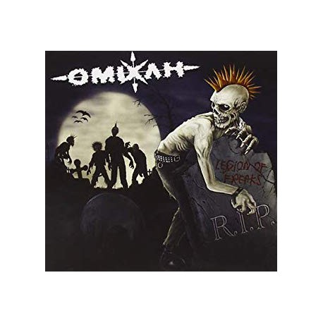 "OMIXLH ""Legion of Freaks"" CD"