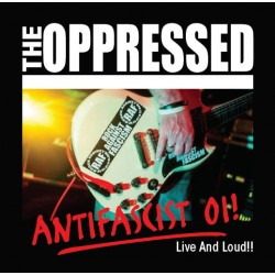 "OPPRESSED ""Live and Loud!!"" CD"