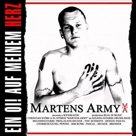 """MARTENS ARMY """"Ein Oi! auf meinem Herz"""" LP"""