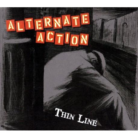 "ALTERNATE ACTION ""Thin Line"" CD"