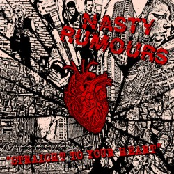 "NASTY RUMORS ""Straight to your Heart"" LP"