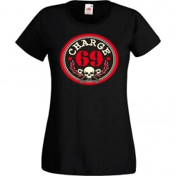 "CHARGE 69 ""New Logo "" TEE SHIRT FEMME"