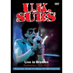 "UK SUBS ""Live in Bremen"" DVD"