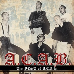 "A.C.A.B. ""The rest of ACAB"" CD"