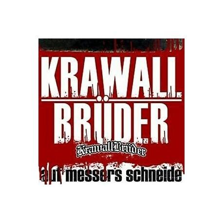 """KRAWALLBRUDER """"Auf Messers Schneide"""" CD"""