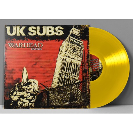 "UK SUBS ""Warhead Revisited"" LP Vinyle jaune"