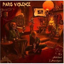 """PARIS VIOLENCE """" Apocalypse"""" LP Vinyl gris marré 200 ex"""