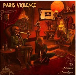"PARIS VIOLENCE ""Apocalyse"" LP vinyl orange marbré 300 ex"