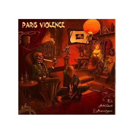 """PARIS VIOLENCE """"Apocalyse"""" LP vinyl orange marbré"""