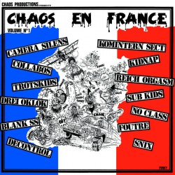"""V/A """"CHAOS EN FRANCE - Vol. 1"""" LP"""