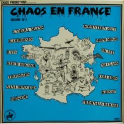 """V/A """"CHAOS EN FRANCE Vol. 2"""" LP"""