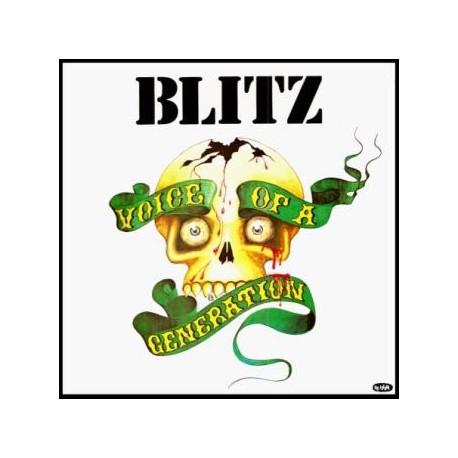 """BLITZ """"Voice of a Generation"""" LP"""