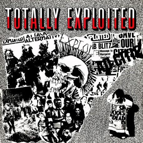 """EXPLOITED """"Totally Exploited"""" LP"""