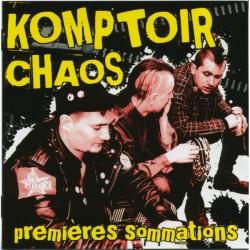 "KOMPTOIR CHAOS ""Premières Siommations"""