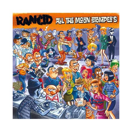 """RANCID """"All the Moon Stompers"""" Dble LP"""