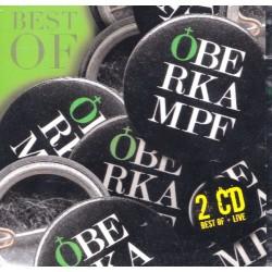 "OBERKAMPF ""Best of + Live"" Dble CD"