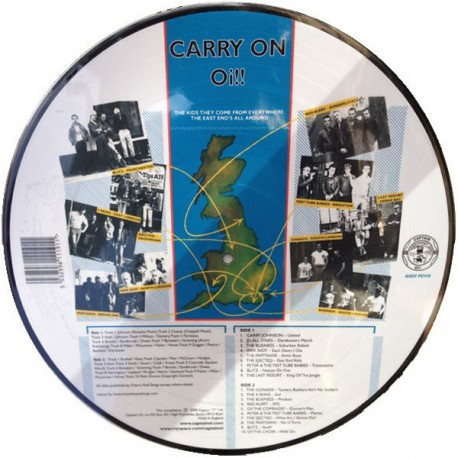 """""""Carry On Oi!"""" Picture LP"""