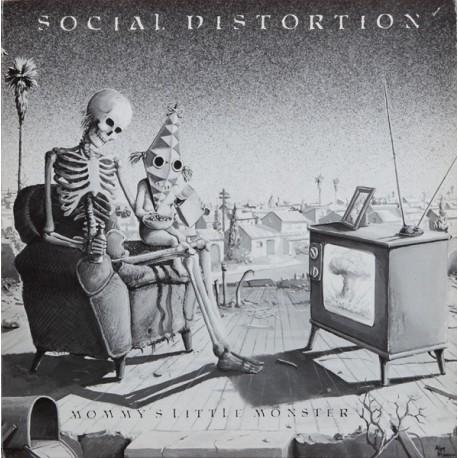 """SOCIAL DISTORTION """"Mommy's little Monster"""" LP"""