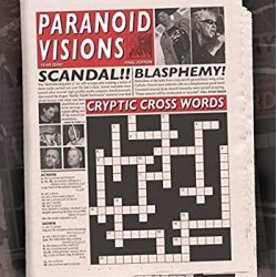 """PARANOID VISIONS """"Cryptic Cross Words"""" LP + CD"""
