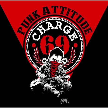 "CHARGE 69 ""Punk Attitude"" CD Digisleeve"